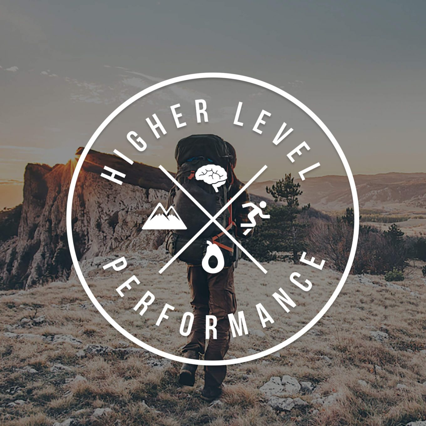 Higher Level Performance Logo Design